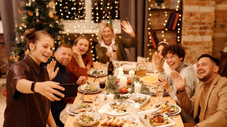 Kerst aan tafel